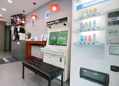 오락기 앤 음료자판기