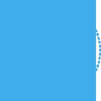 파랑 점선 동그라미