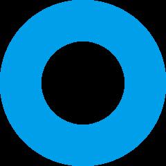 파랑 링 동그라미