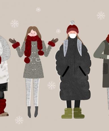 겨울옷 관리방법, 패딩점퍼 코트 관리법