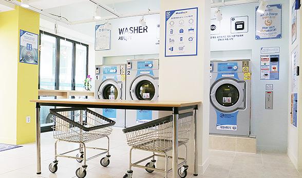 워시엔조이 실내 세탁기 이미지