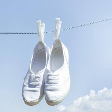 여름내 땀에 절은 운동화 빨래 방법