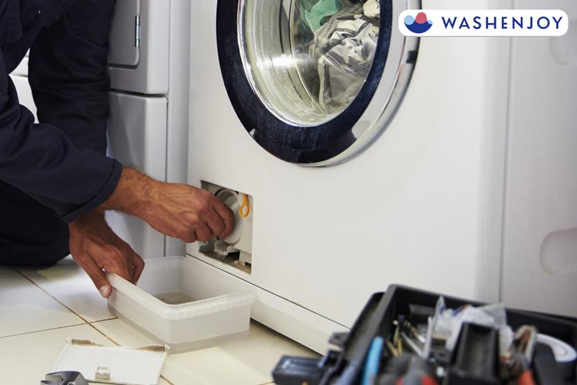 세탁기 수도 동파 시 해결 방법 - 워시엔조이 셀프빨래방