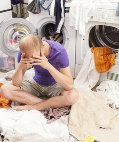 한파에 세탁기 얼었을 때 초간단 해결 방법!
