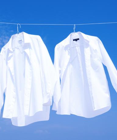 때 잘 타는 흰색 와이셔츠 빨래할 때 목 때, 누런 때 쉽게 제거하는 방법