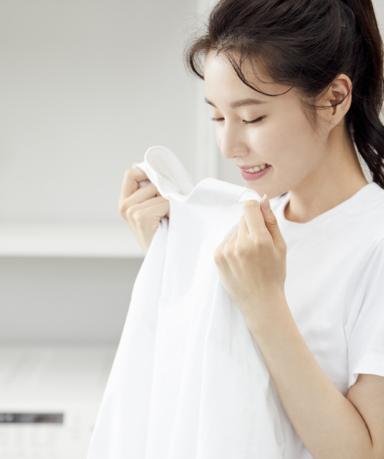 땀으로 누렇게 변한 흰옷 얼룩 제거 방법, 황변 제거 세탁법
